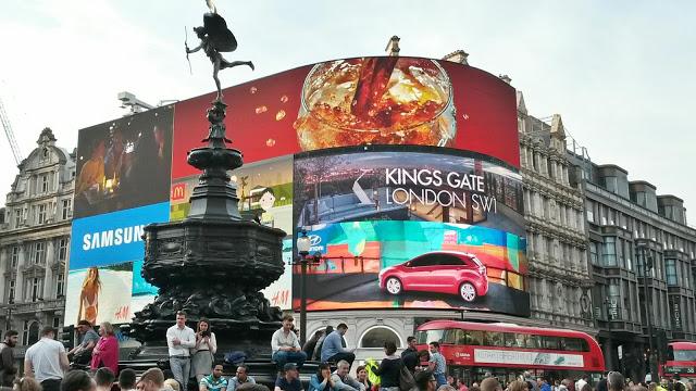 Covent Garden & Picadelly Circus