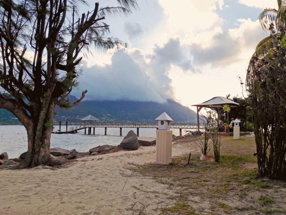 Ankuft auf Cerf Island