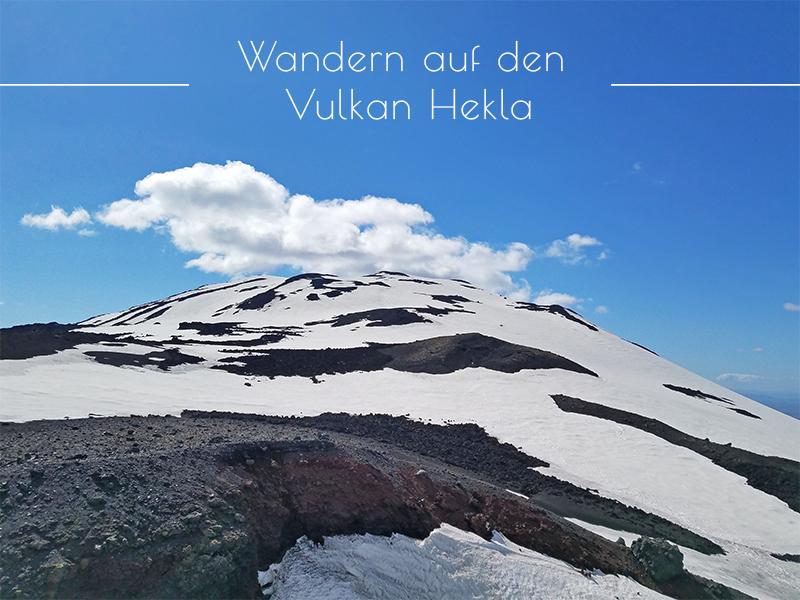 Wanderung auf den Vulkan Hekla