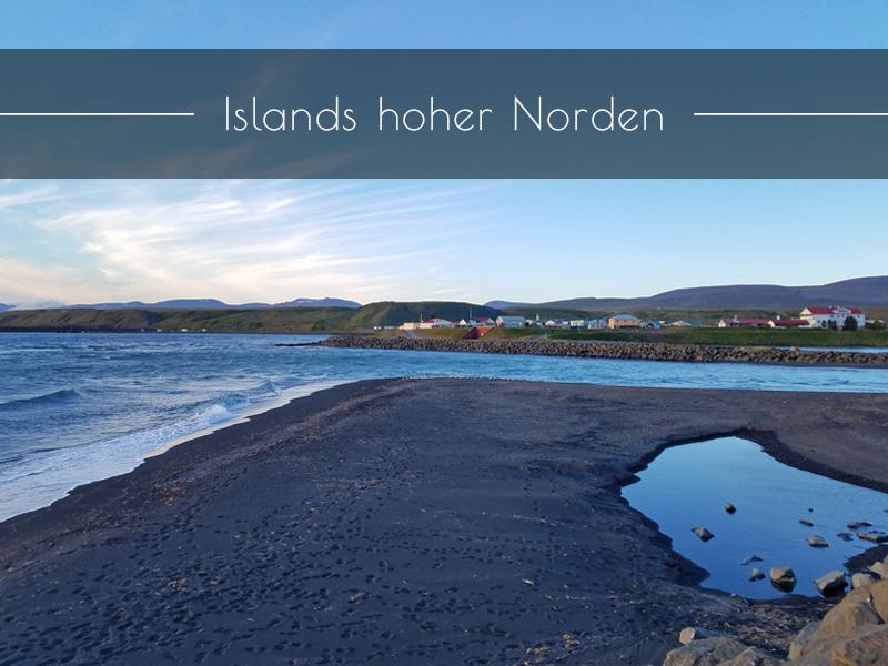 Blönduos im Norden von Island