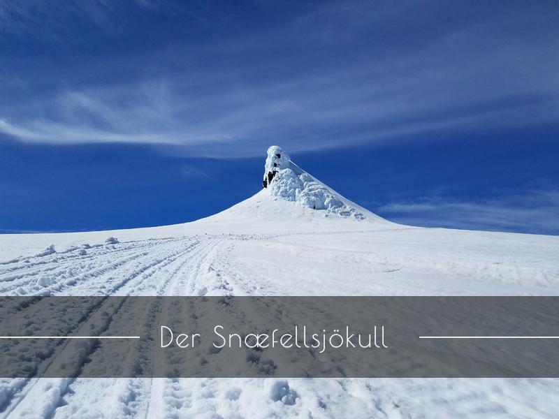 Der Schneeberggletscher Snaefellsjökull