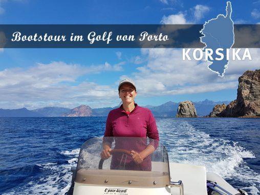 Eine Bootstour im Golf von Porto
