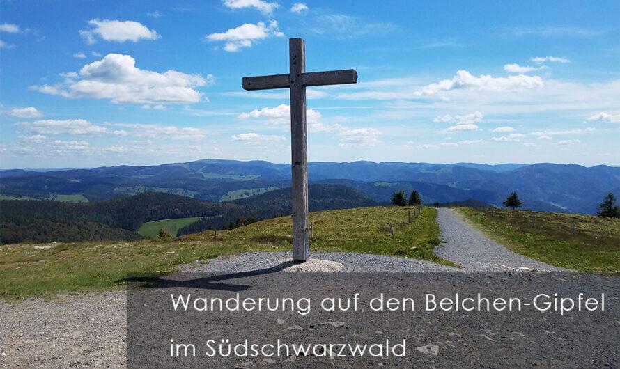 Wanderung auf den Belchen-Gipfel im Schwarzwald