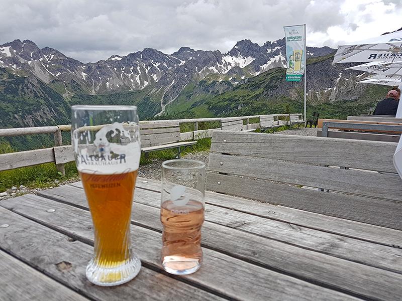 Auf der oberen Alpe Bierenwang