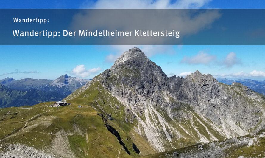 Wandertipp: Der Mindelheimer Klettersteig