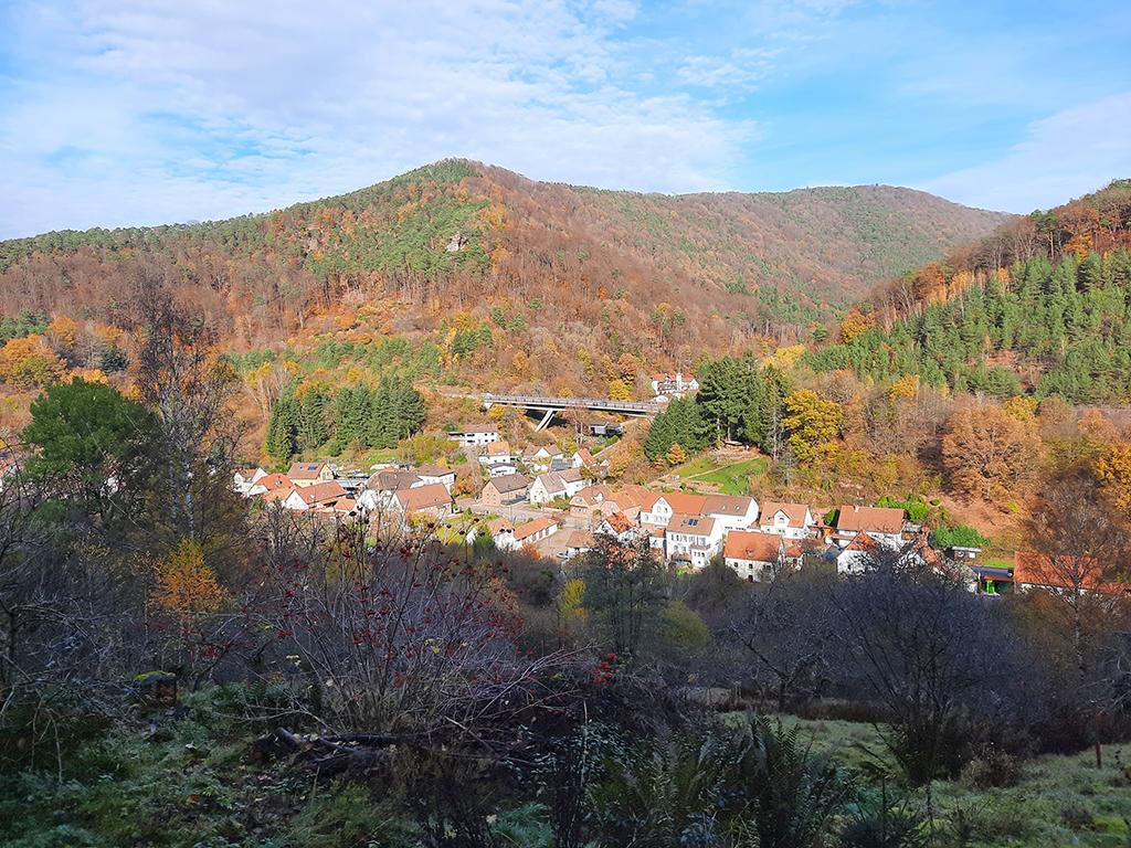 Blick auf Rinnthal