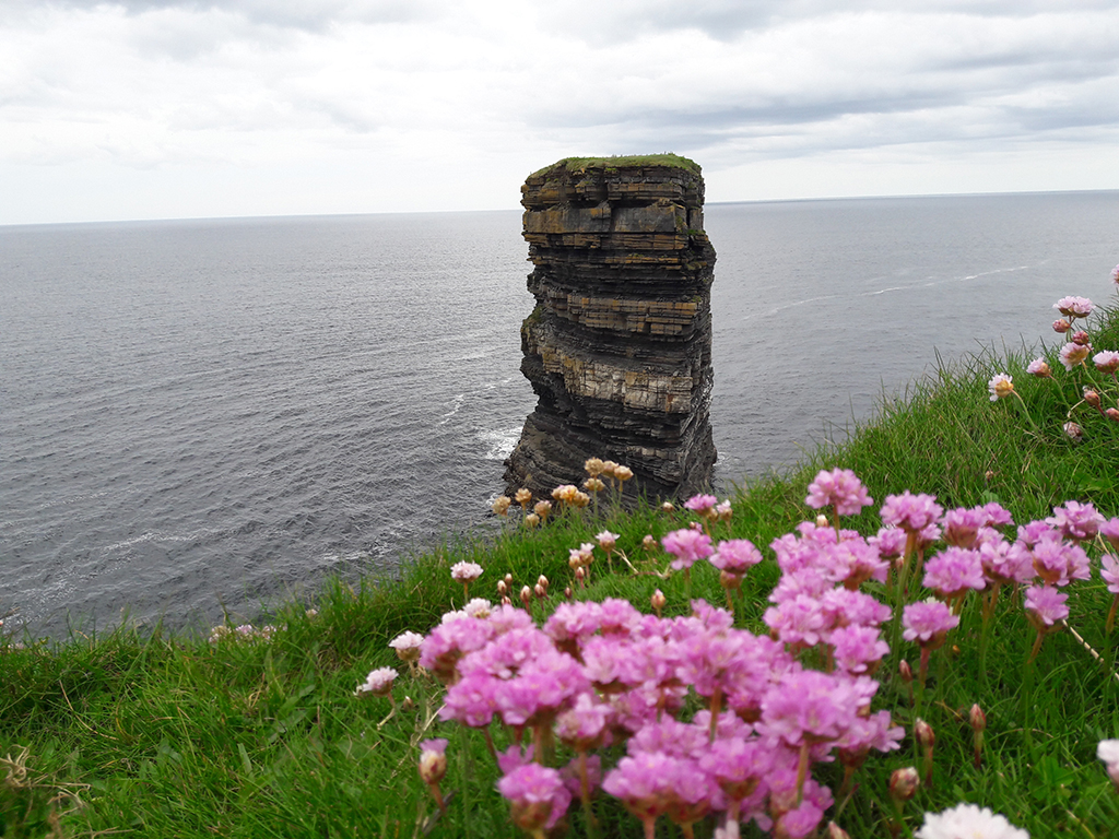 Downpatrick's Head bei Ballycastle