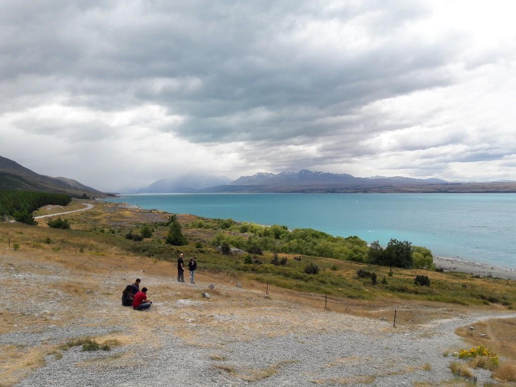 Blue Lakes und Tasman Glacier View