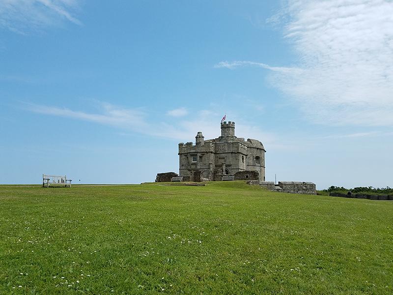 Pendennis Castle und Tresmorn