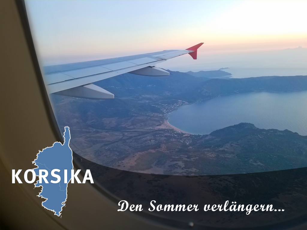 Den Sommer verlängern auf Korsika