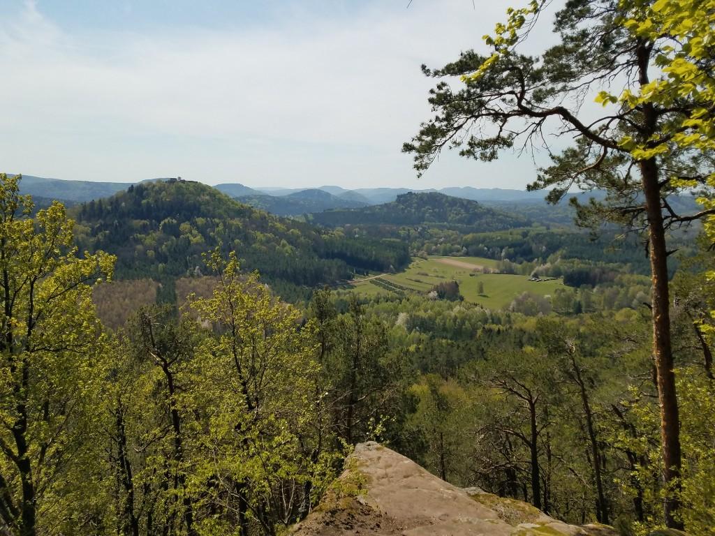 Blick vom Immers-Berg