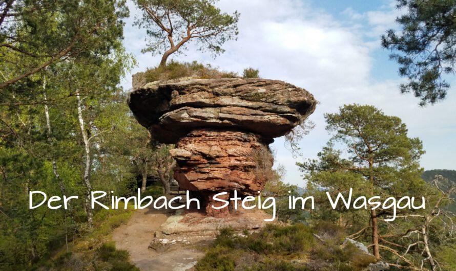 Wandern auf dem Rimbach Steig im Wasgau (Pfalz)