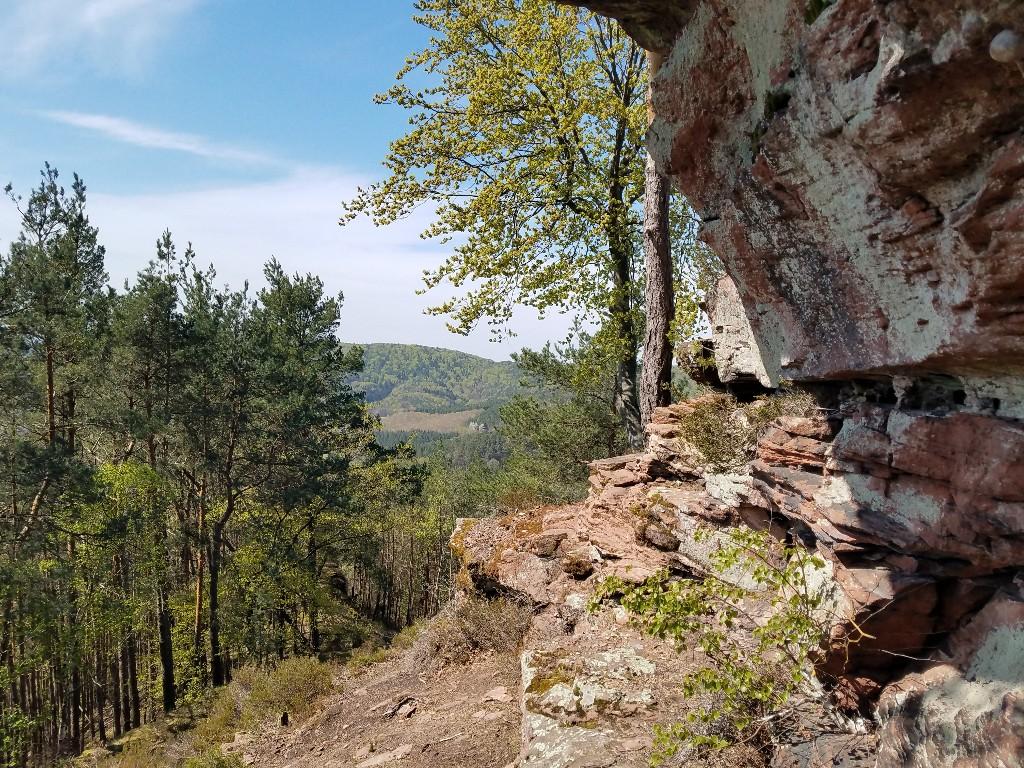 Ein weiterer Felsen mit toller Aussicht