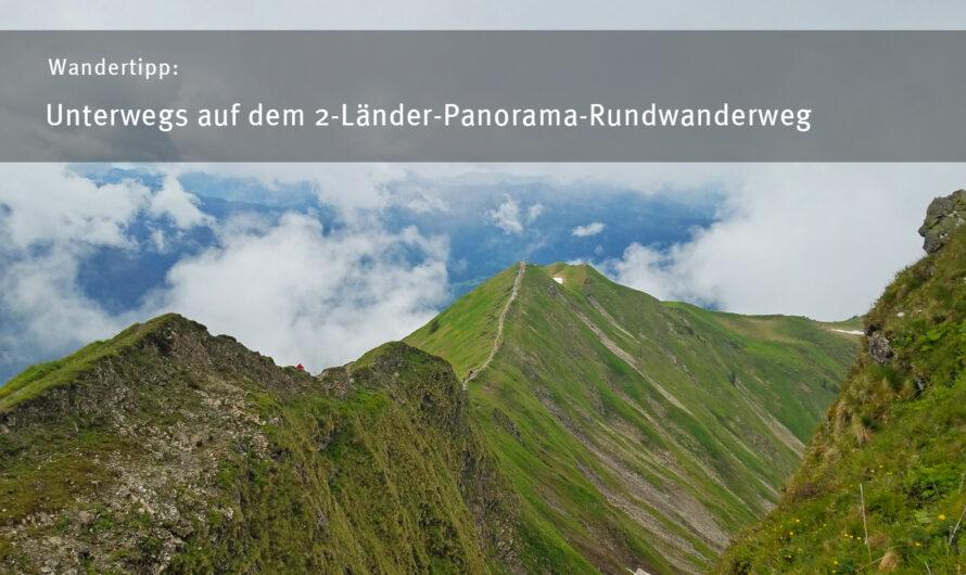Unterwegs auf dem 2-Länder-Panorama-Rundwanderweg
