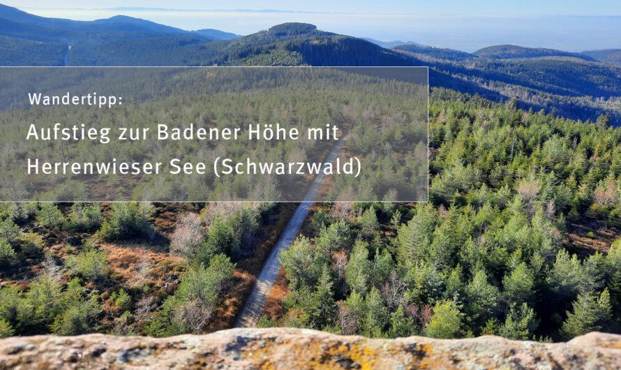 Wandertipp: Aufstieg zur Badener Höhe mit Herrenwieser See (Schwarzwald)